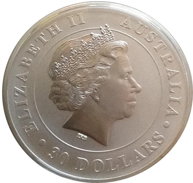 30 Dollars Elizabeth Ii Quot Koala Quot Silver Bullion