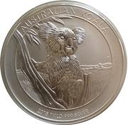 """30 Dollars - Elizabeth II (""""Koala"""" Silver Bullion) -  reverse"""