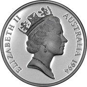 5 Dollars - Elizabeth II (Sir John Forrest) -  obverse