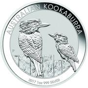 1 Dollar - Elizabeth II (Australian Kookaburra) -  reverse