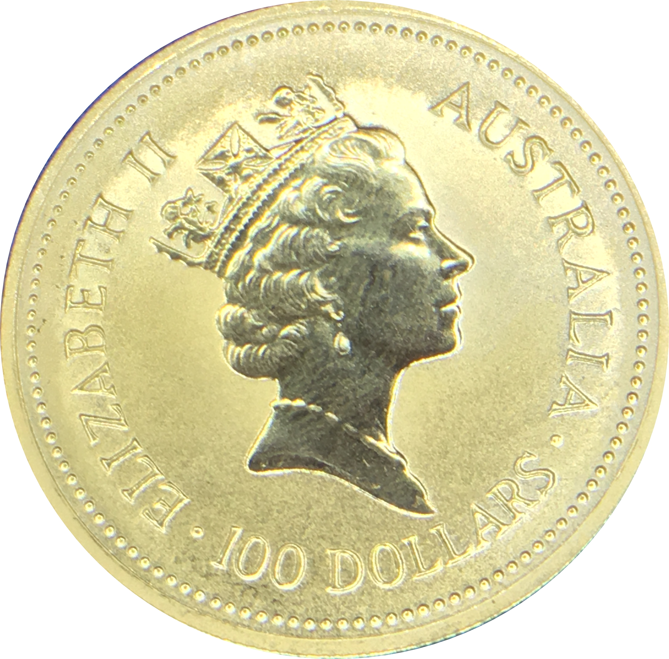 100 Dollars Elizabeth Ii Quot Australian Nugget Quot Gold