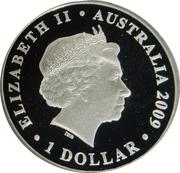 1 Dollar - Elizabeth II (4th Portrait - International Year of Astronomy - Silver Proof) -  obverse