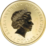 1 Dollar - Elizabeth II (4th portrait; Sydney 2009 World Master Games) -  obverse