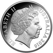 1 Dollar - Elizabeth II (4th Portrait - Kangaroo) -  obverse