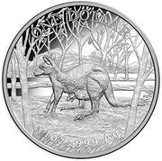 1 Dollar - Elizabeth II (4th Portrait - Kangaroo) -  reverse