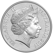 1 Dollar - Elizabeth II (Archie - Alpine Dingo) -  obverse