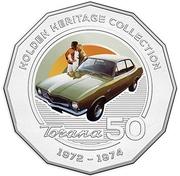 50 Cents - Elizabeth II (Holden LJ Torana GTR XU 1) -  reverse