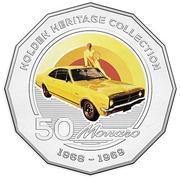 50 Cents - Elizabeth II (Holden HK Monaro) -  reverse