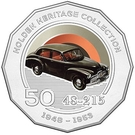 50 Cents - Elizabeth II (Holden 48 215 FX) – reverse