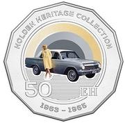 50 Cents - Elizabeth II (Holden EH) -  reverse