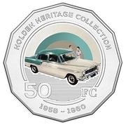 50 Cents - Elizabeth II (Holden FC) -  reverse