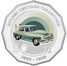 50 Cents - Elizabeth II (Holden FJ) – reverse