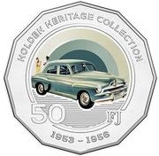 50 Cents - Elizabeth II (Holden FJ) -  reverse