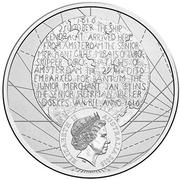 20 Cents - Elizabeth II (400th Anniversary of Dirk Hartog's Landfall) – obverse