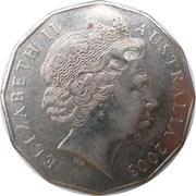50 Cents - Elizabeth II (Volunteers) -  obverse