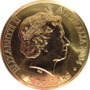 5 Dollars - Elizabeth II (Tasmania Bicentenary) -  obverse