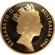 5 Dollar - Elizabeth II (3rd Portrait - The Enfranchisement of Women - Proof) -  obverse