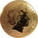 5 Dollars - Elizabeth II (Rugby World Cup) – obverse
