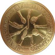 5 Dollars - Elizabeth II (Manchester Commonwealth Games 2002) – reverse