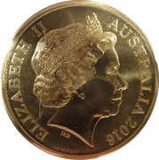 5 Dollars - Elizabeth II (50th Anniversary of The Battle of Long Tan) -  obverse