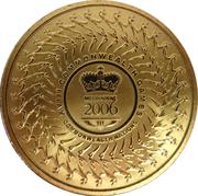 5 Dollars - Elizabeth II (4th Portrait - XVIII Commonwealth Games Melbourne 2006) – reverse