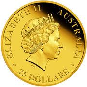 25 Dollars - Elizabeth II (4th Portrait - Koala - Gold Bullion Coin) -  obverse