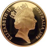 5 Dollar - Elizabeth II (Sir Donald Bradman Tribute) – obverse