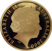 5 Dollar - Elizabeth II (70th Anniversary of Phar Lap's 1930 Melbourne Cup Win) -  obverse