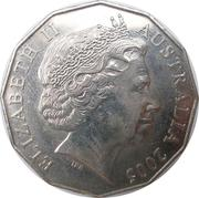 50 Cents - Elizabeth II (Commonwealth Games Melbourne 2006) – obverse