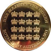 5 Dollar - Elizabeth II (Queen's Visit Commonwealth Heads of Government Meeting) -  reverse