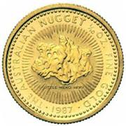 """15 Dollars - Elizabeth II (""""Australian Nugget"""" Gold) -  reverse"""