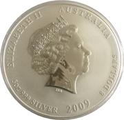 8 Dollars - Elizabeth II (Year of the Ox) -  obverse