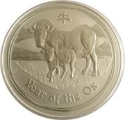 8 Dollars - Elizabeth II (Year of the Ox) -  reverse