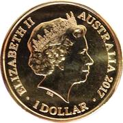 1 Dollar - Elizabeth II (4th Portrait - Year of the Rooster) -  obverse