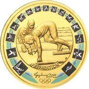 100 Dollars - Elizabeth II (2000 Sydney Olympics Preparation - Sprinter & Coach) -  reverse