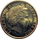 2 Dollars - Elizabeth II (Remembrance Day - Poppy Flower) – obverse