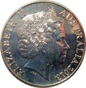 20 Cents - Elizabeth II (4th Portrait - Centenary of Canberra) -  obverse