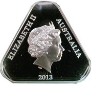 5 Dollars - Elizabeth II (4th Portrait - 25th Anniversary of Australian Parliament House - Silver Proof) -  obverse