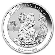 1 Dollar - Elizabeth II (4th Portrait - Koala - Silver Bullion Coin) -  reverse