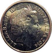 2 Dollars - Elizabeth II (Remembrance Day - Dove) -  obverse