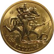5 Dollars - Elizabeth II (Modern Pentathlon) -  reverse