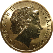 5 Dollars - Elizabeth II (Volleyball) -  obverse