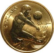5 Dollars - Elizabeth II (4th Portrait - Volleyball) -  reverse