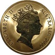 5 Dollars - Elizabeth II (Weightlifting) -  obverse