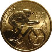 5 Dollars - Elizabeth II (Cycling) -  reverse
