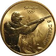 5 Dollars - Elizabeth II (4th Portrait - Shooting) -  reverse