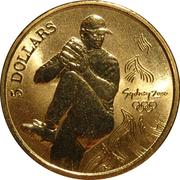 5 Dollars - Elizabeth II (Baseball) -  reverse