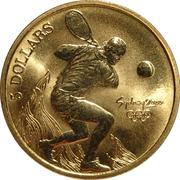 5 Dollars - Elizabeth II (Tennis) -  reverse
