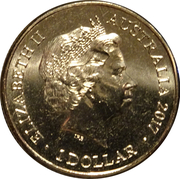 1 Dollar - Elizabeth II (Trans-Australian Railway) – obverse