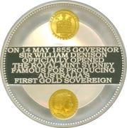10 Dollars - Elizabeth II (4th Portrait - Sydney Mint - Sovereign Sesquicentenary) -  obverse